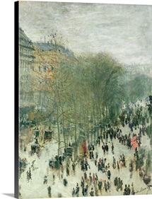 Boulevard des Capucines, 1873 4 (oil on canvas)
