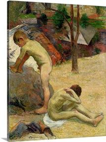 Breton Boys Bathing, 1888 (oil on canvas) (see also 244974)