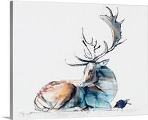 Buck and Bird, 2006 (charcoal