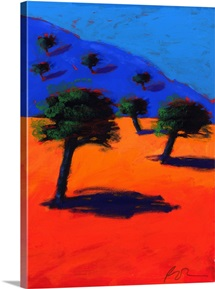 Cala Lena, 2007 (acrylic on board)