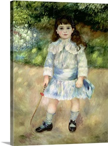 Child with a Whip, 1885 (oil on canvas)