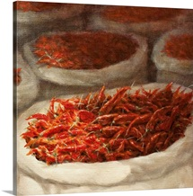 Chillis, 2010 (acrylic on canvas)