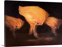 Chinese Dancers, 2010 (acrylic on canvas)
