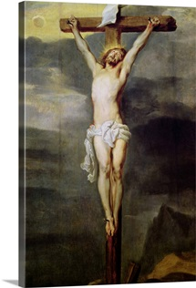 Christ on the Cross, 1627 (oil on panel)