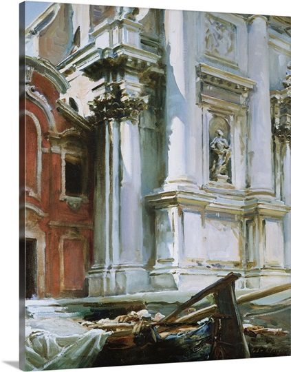 Church of St. Stae, Venice, 1913 (oil on canvas)