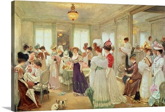 Cinq Heures chez le Couturier Paquin, 1906