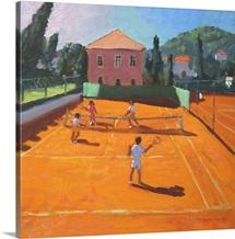 Clay Court Tennis