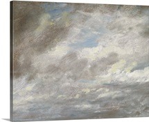 Cloud Study, c.1821 (oil on paper laid on card)
