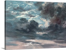 Cloud Study (oil on canvas)
