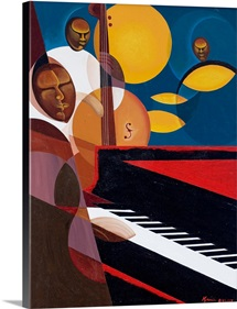 Cobalt Jazz, 2007 (oil and acrylic on canvas)