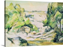 Countryside in Provence (w/c on paper)