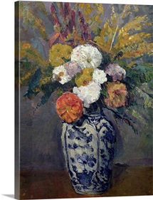 Dahlias, c.1873 (oil on canvas)