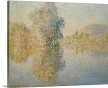 Early Morning on the Seine at Giverny, 1893 (oil on canvas)