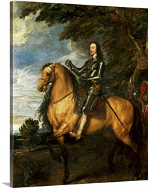 Equestrian Portrait of Charles I (1600 49) c.1637 38 (oil on canvas)