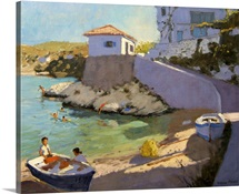 Fishing Nets, Samos, 2005 (oil on canvas)