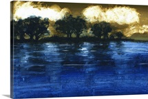 Flood, 2009 (acrylic on board)