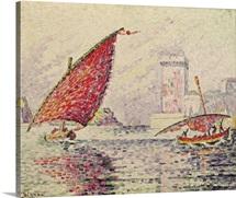 Fort Saint-Jean, Marseilles, 1907 (oil on canvas)