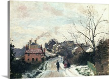 Fox hill, Upper Norwood, 1870 (oil on canvas)
