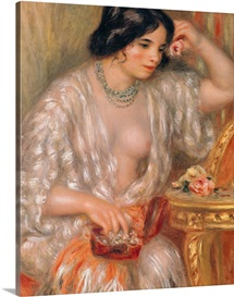 Gabrielle with Jewellery, 1910 (oil on canvas)