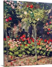 Garden in Bloom, 1866
