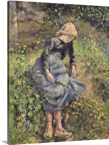 Girl with a Stick, 1881 (oil on canvas)