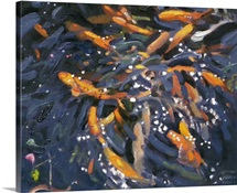 Goldfish, 2010 (oil on canvas)