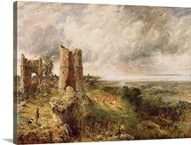 Hadleigh Castle, 1829 (oil on canvas)