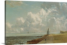 Harwich, The Low Lighthouse and Beacon Hill, c.1820 (oil on canvas)