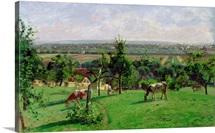 Hillside of Vesinet, Yvelines, 1871 (oil on canvas)