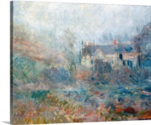 House at Falaise, Normandy, 1885 (oil on canvas)