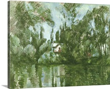 House on the Banks of the Marne, 1889 90 (oil on canvas)