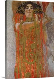 Hygieia, 1900 7 (detail from Medicine)