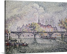 Ile de la Cite, Paris, 1912 (oil on canvas)