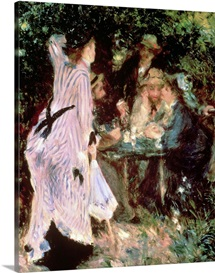 In the Garden, or Under the Trees of the Moulin de la Galette, 1875 (oil on canvas)