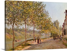 June Morning in Saint Mammes, 1884 (oil on canvas)