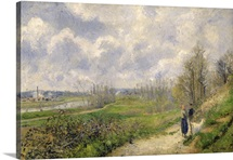 La Sente du Chou, near Pontoise, 1878 (oil on canvas)