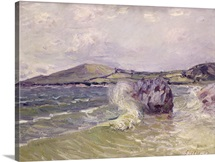 Ladys Cove, Wales, 1897 (oil on canvas)