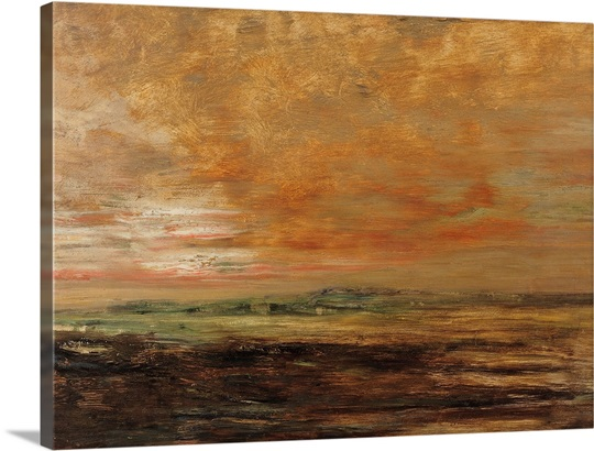 Landscape (oil on panel)