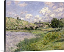 Landscape, Vetheuil, 1879 (oil on canvas)