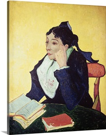 LArlesienne (Madame Ginoux) 1888 (oil on canvas)