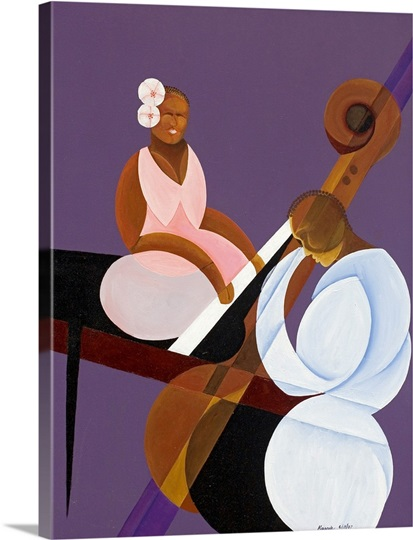 Lavender Jazz, 2007 (oil and acrylic on canvas)