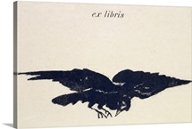Le Corbeau (The Raven), 1875 (litho)