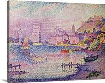 Leaving the Port of Saint Tropez, 1902 (oil on canvas)