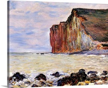 Les Petites Dalles, Pourville, 1881 (oil on canvas)