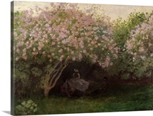 Lilacs, Grey Weather, 1872 (oil on canvas)