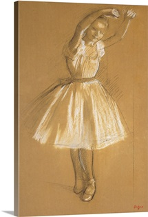 Little Dancer, 1875 (charcoal