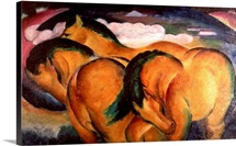 Little Yellow Horses, 1912 (oil on canvas)