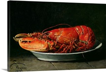 Lobster, 1878 (oil on canvas)
