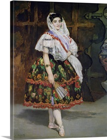 Lola de Valence, 1862 (oil on canvas)