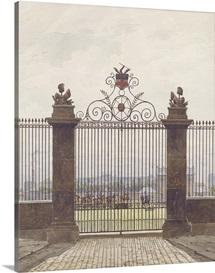 London scene, 1815 (w/c on paper)